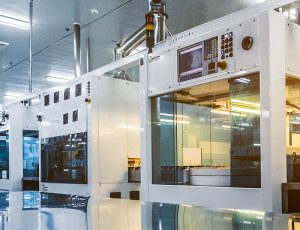 high-tech manufacturing facility